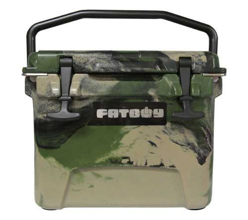 Fatboy 10QT Rotomolded Cooler Army Camo