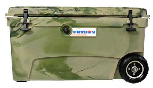 Fatboy 70QT Rotomolded Wheeled Cooler Army Camo