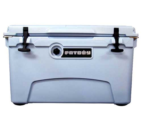 Fatboy 45QT Rotomolded Cooler Light Blue