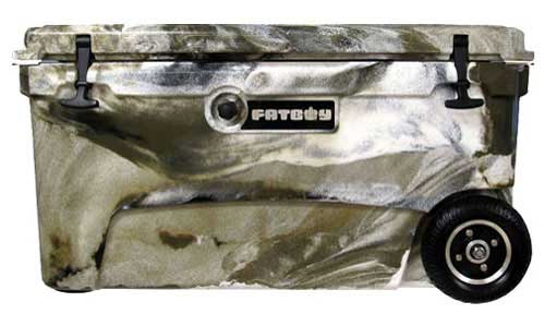 Fatboy 70QT Rotomolded Wheeled Cooler Desert Camo