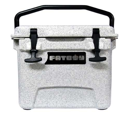 Fatboy 10QT Rotomolded Cooler Smoky Granite