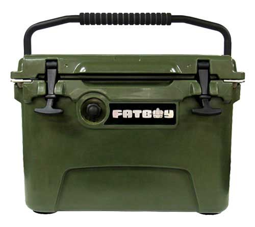 Fatboy 20QT Rotomolded Cooler Dark Green