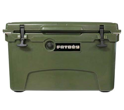 Fatboy 45QT Rotomolded Cooler Dark Green