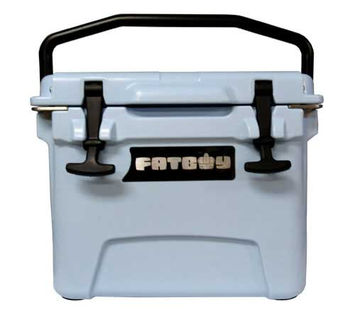 Fatboy 10QT Rotomolded Cooler Light Blue
