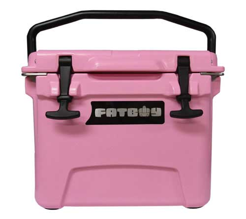 Fatboy 10QT Rotomolded Cooler Pink