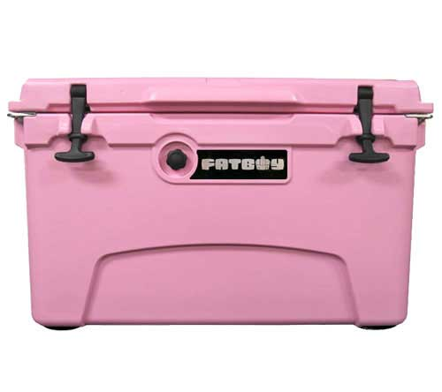 Fatboy 45QT Rotomolded Cooler Pink