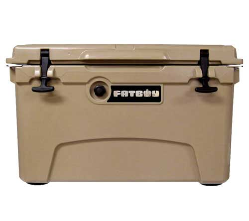 Fatboy 45QT Rotomolded Cooler Sand Tan