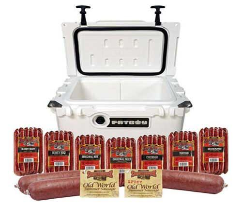 Fatboy 20QT Cooler Combo Sausage Lover Pack