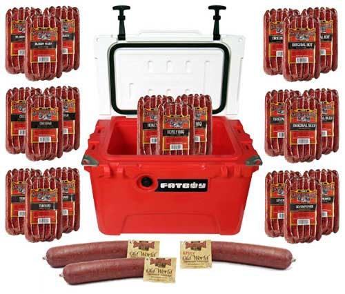 Fatboy 20QT Cooler Combo Sausage Lover Extreme Pack