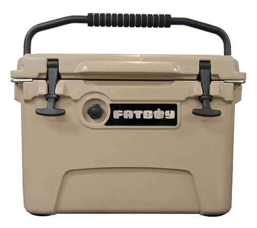 Fatboy 20QT Rotomolded Cooler Sand Tan