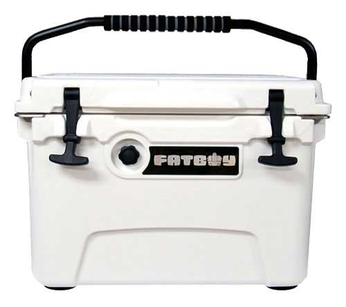 Fatboy 20QT Rotomolded Cooler White