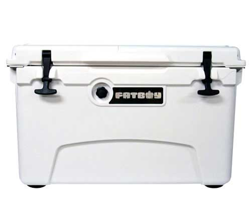 Fatboy 45QT Rotomolded Cooler White